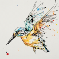Kathryn Callaghan - 'Dive' Kingfisher